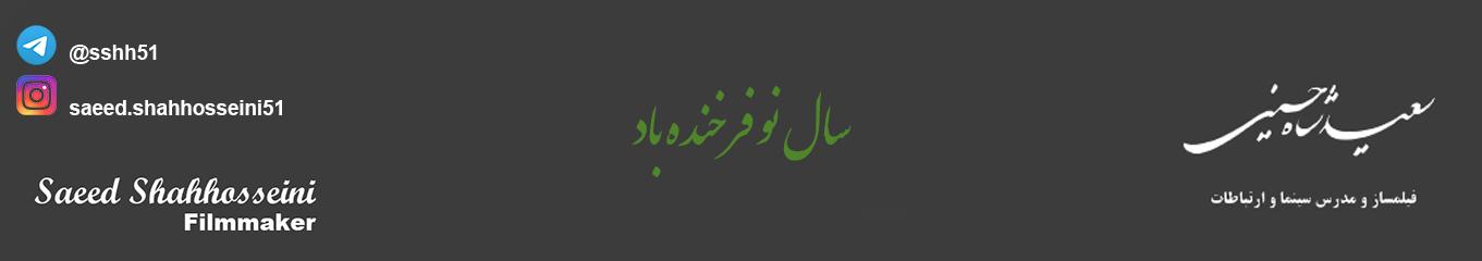 سایت شخصی سعید شاه حسینی